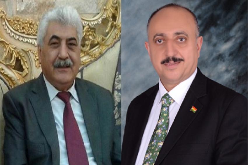 رئيس اتحاد الكتاب الكرد-سوريا يهنىء غفور مخموري والإتحاد القومي الديمقراطي الكوردستاني
