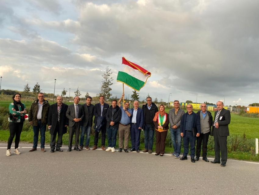 لههۆلهندا ههڤكاری پارته سیاسییهكان پالپشتی بهرخۆدانی رۆژئاوای كوردستان دهكهن