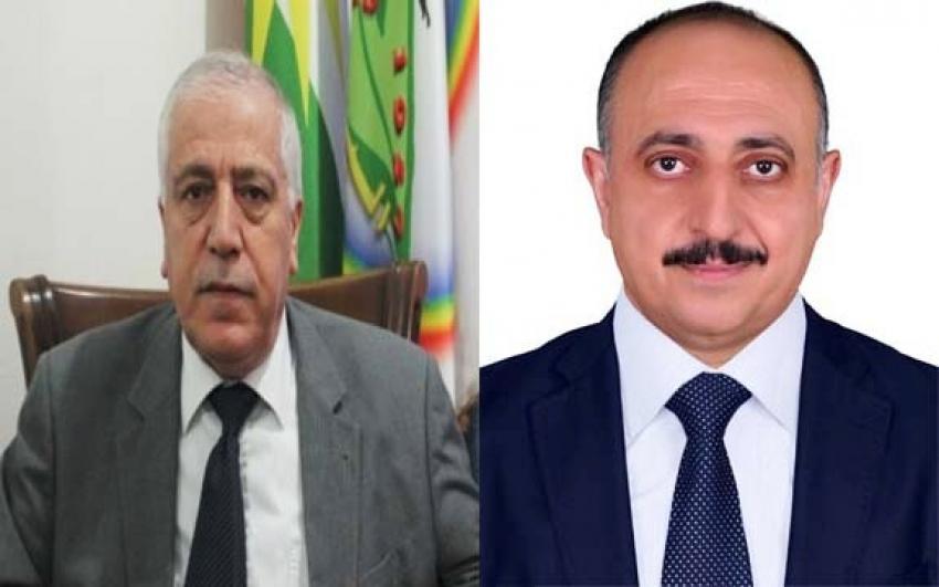 غفور مخموري السكرتير العام ل YNDK يهنئ الحزب الديمقراطي الكردي في سوريا (الپارتي) في ذكرى تأسيسه الـ63