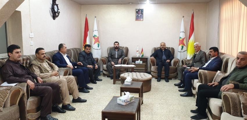 راگەیاندنی كۆتایی كۆبوونەوەی كۆمیتەی سەركردایەتيی یەكێتی نەتەوەیی دیموكراتی كوردستان YNDK