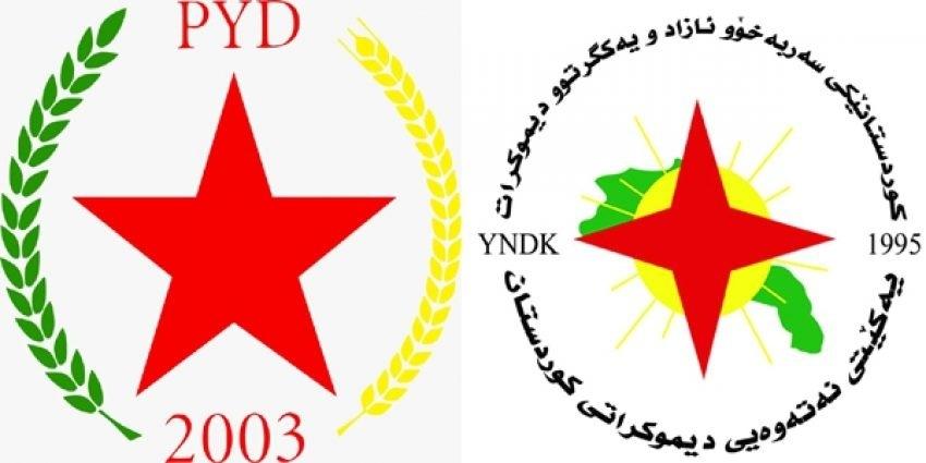 الاتحاد القومي الديمقراطي الكوردستاني YNDK يهنئ حزب الاتحاد الديمقراطي PYD في ذكرى تأسيسه الـ17