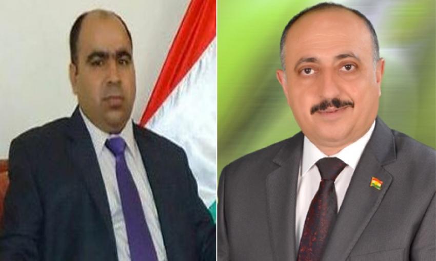 الدكتور محمد احمد البرازي يهنىء غفور مخموري والإتحاد القومي الديمقراطي الكوردستاني