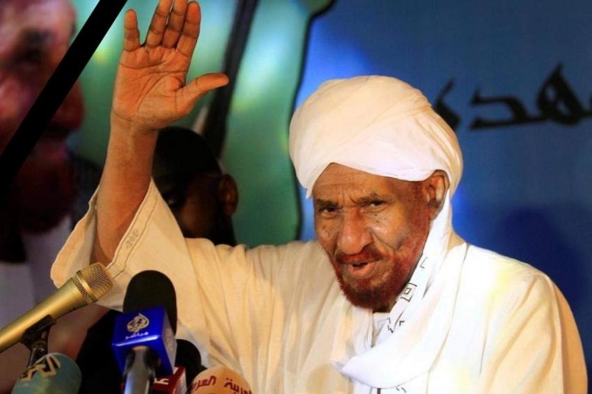 غفور مخموري يعزي عائلة الفقيد المناضل والمفكر (الإمام الصادق المهدي) وقيادة حزب الأمة القومي السوداني