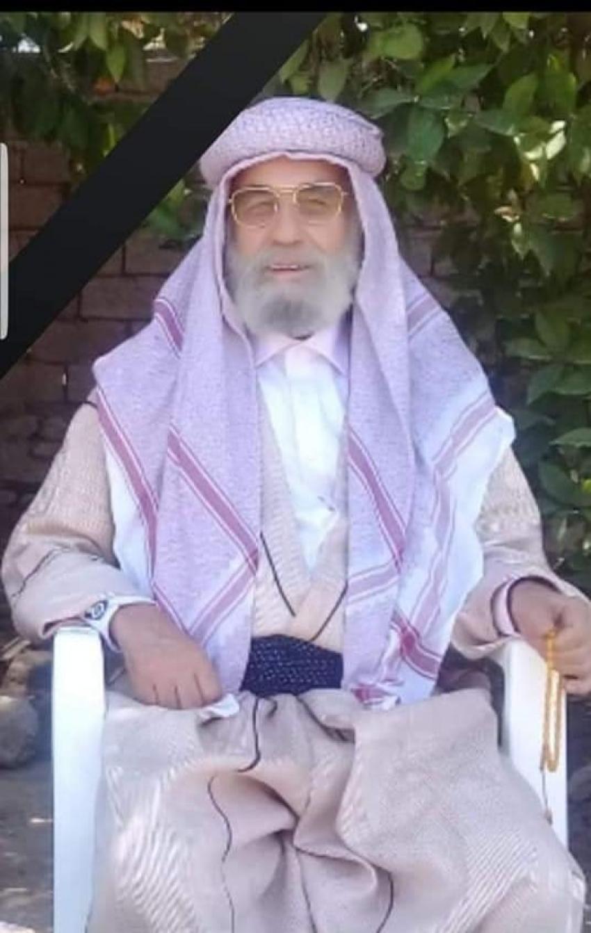 غفور مخموري يعزي الأمير حازم تحسين بك أمير الإيزيدية في العالم