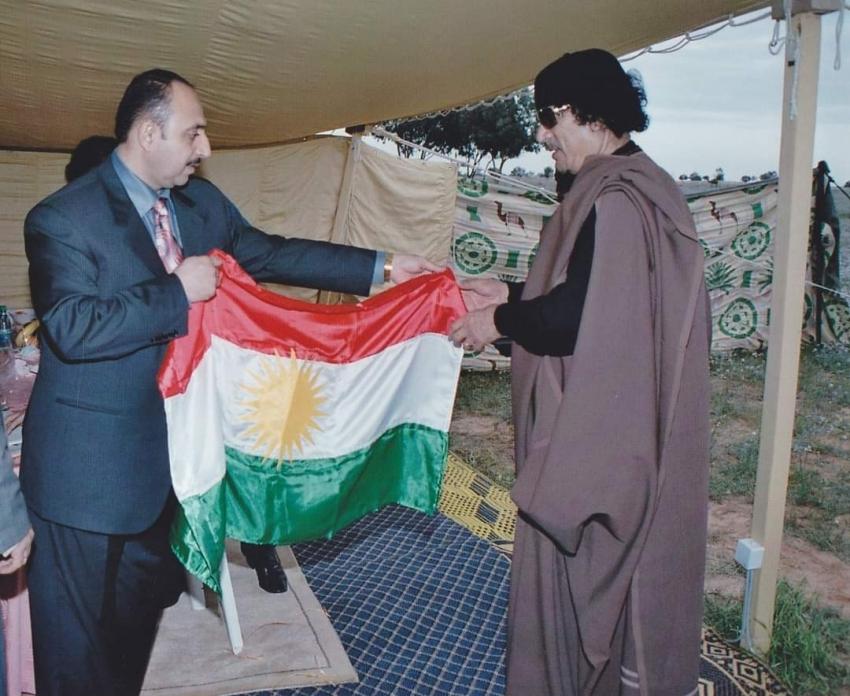 في ذكرى العاشرة لاستشهاد قائد الثورة الليبية، معمر القــــذافي واستقلال كوردستان...بقلم: غفور مخموري