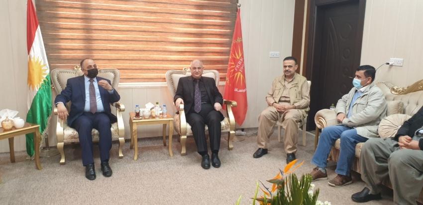 سكرتێری گشتیی YNDK ساڵیادی دامەزراندنی پارتی كرێكاران و رەنجدەرانی كوردستان PKRK پیرۆز دەكات