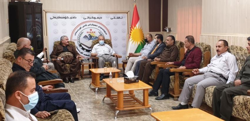 YNDK ساڵیادی دامەزراندنی بزووتنەوەى دیموکراتى گەلى كوردستان پیرۆز دەكات