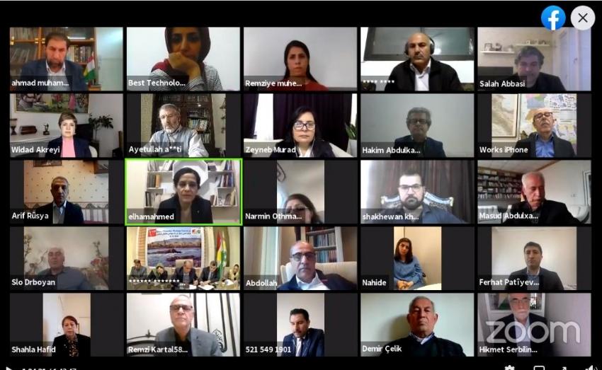 نوێنهری YNDK بهشداری كۆنفرانسی راوێژ بۆ پهرهپێدانی دیالۆگی ناوخۆیی دهكات