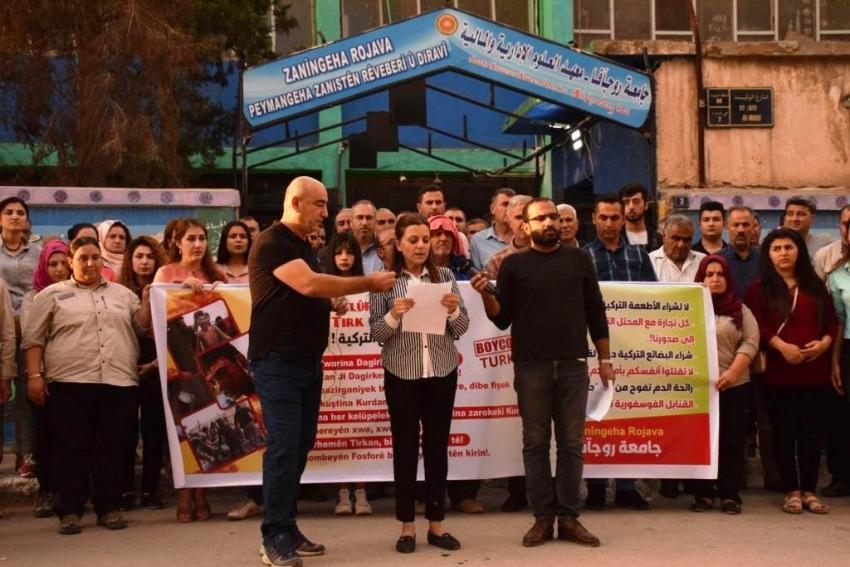 طلاب جامعة روج آفا: التعلم باللغة الكردية خط أحمر ونرفض المقايضة السياسية
