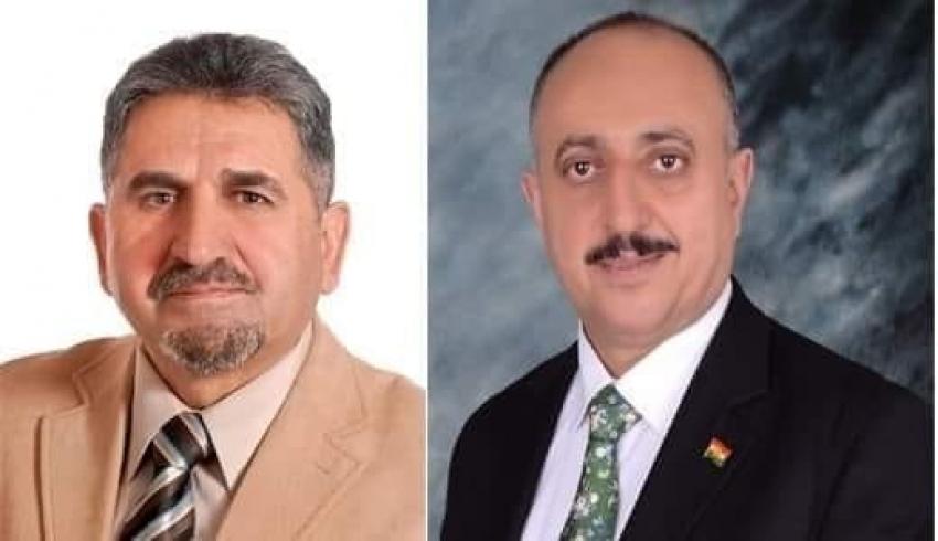 رسالة الشكر من ممثل ديوان الأكراد وعائلة الهشلمون الآيوبي في فلسطين الى السكرتير العام للاتحاد القومي الديمقراطي الكوردستاني YNDK