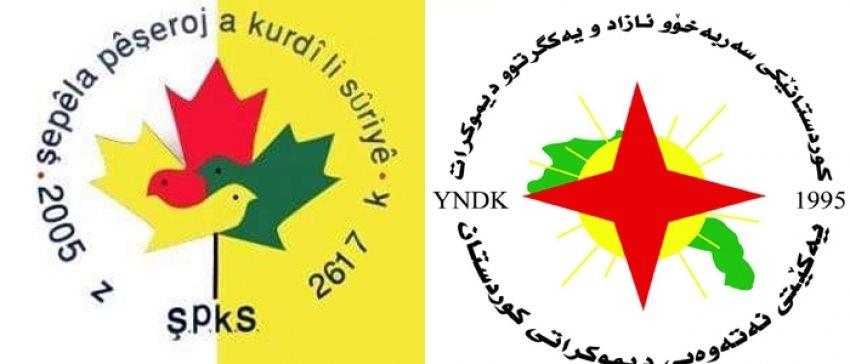 الاتحاد القومي الديمقراطي الكوردستاني YNDK يهنئ تيار المستقبل الكوردي في سوريا في ذكرى تأسيسه الـ15