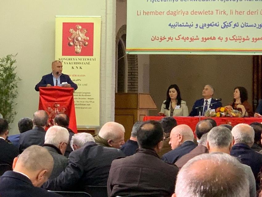 فەخرەددین زیارەتى نوێنەرى YNDK لە نۆزدەمین جڤاتى گشتیی KNK: رەوشى کوردستان لەهەموو لایەکمان دەخوازێ هاوکارو پشتیوانى یەکدى بین