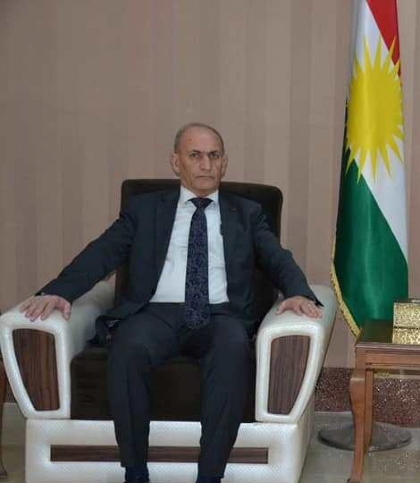 سكرتير البارتي الطليعي الكوردستاني يهنىء غفور مخموري والإتحاد القومي الديمقراطي الكوردستاني