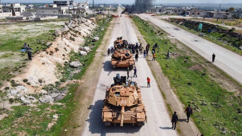 Li Idlibê leşkerek Tirk hate kuştin